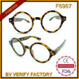 F6967 Retro Vitage Round Shaped Custom Occhiali Sunglasses