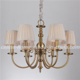 Iron Pendant Lamp Chandelier with Fabric Shade (SL2112-6)