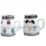 Wholesale Ceramic Coffee Mug with Handle Dn-291