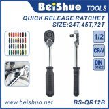 Factory Supplier Quick Release Ratchet Handle, Torque Spanner Wrench