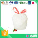 Hot Sale Plastic Diaposable Drawstring Garbage Bag