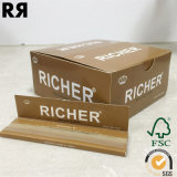 Richer Fsc & SGS & FDA Brown 14 GSM Cigarette Smoking Rolling Paper