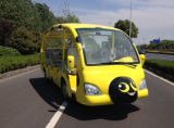 Best Price 23 Seats Electric Tourist Shuttle Bus for Sale