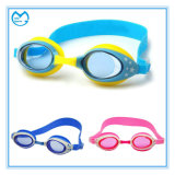 Mirrored Silicone Prescription Anti Fig Swimming Goggles for Kids