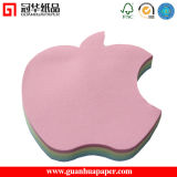Cute Design Apple Shaped Memo Pad for Promotion