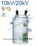 100kVA Dh Series 10kv/20kv Single Phase Pole Mounted Distribution Transformer