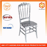 Silver Resin Royal Chair for Wedding Event