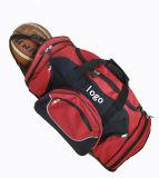 Polyester Duffle Gym Bag with Basketball Pocket