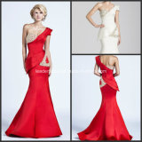 One Shoulder Mermaid Sexy Formal Gowns Satin New Evening Dresses Y2019