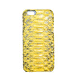 Genuine Python Skin Leather Mobile Cell Phone Case for iPhone