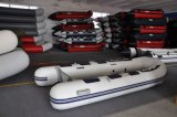 Liya 3.6m Hot Sale Outboard Motor Plywood Floor Inflatable Boat 360