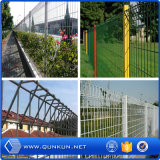 Hot Sale PVC Coated 3D Folding Wire Fence for Garfen Using