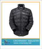 Men Packaway Winter Down Padded Jacket with Custom Logo Printing