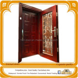 Steel Door,Double Leaf Cold-Rolled Steel Security Doors (HY-F222)