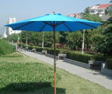 Garden Wooden Umbrella / Outdoor Furniture Patio Umbrellas (Dia. 270cm) (22301)