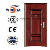 Best Price Security Metal Exterior Steel Iron Door (W-S-121)