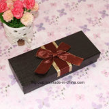 Fine Quality Paper Box for Chocolate Packaging with Ribbon