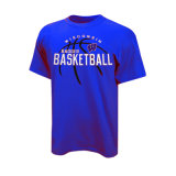 Hot Sell Basketball T Shirts Training Shirt Logo on Front