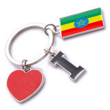 New Custom Metal Souvenir Ethiopia Keyring