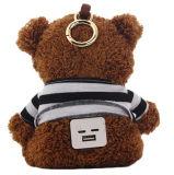 Lavender Teddy Bear Plush Mobile Power Bank, Sedex Audit Power Bank