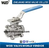 3-PC Ball Valve with ISO 5211