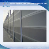 Aluminum Soundproofing Panels with Small Perforated Holes Maximizing Sound Absorbability