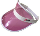 Custom Fashion Cheap Colorful PVC Sun Visor Hat