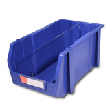 Stackable Storage Bin, Plastic Storage Box (PK008)
