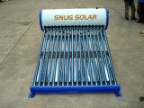 Family Use Compact Non-Pressurized Solar Water Heater with Sunmax Reflector