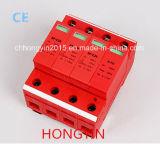 Hot Sale 4 Poles 275/320/385/440V 20ka IP65 Power Electrical Surge Protector