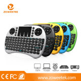 Hot Rii Mini I8+ Wireleess Russion Keyboard with Touchpad