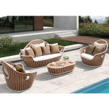 Luxury Classic Waterproof Outdoor Garden Furniture with Coffee Table