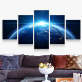 5 PCS/Set Theme Half-Conscious Space Canvas Printings Modern Home Decor for Living Room Decoration Poster Picture Art Wall