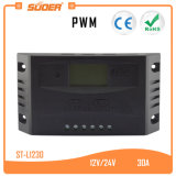 Suoer 12V 24V 30A PWM Solar Power Charger Controller (ST-L1230)