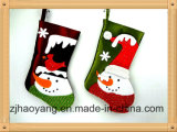 Adorable Snowman Christmas Stocking for Holiday Decor