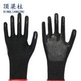 Black Nitrile Coated Protection Working Gloves Safety Gloves