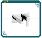Single Hole Contemporary Sanitary Ware Wall Mounted Bathroom Faucet