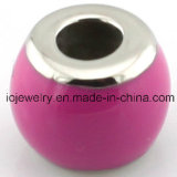 Very Low MOQ Jewelry Enamel Different Color Beads