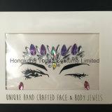 SGS Certified Bling Glitter Eye Skin Sticker Adhesive Acrylic Gem Crystal Diamond Sticker (S007)