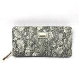Grey Printing Fashion Women Wallet