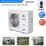 Slovakia Cold-20c Winter Heating Room+55c Hot Water 12kw/19kw/35kw/70kw Evi DC Inverter Floor Heating Heat Pump Air Water Heater