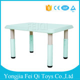 Cheap Plastic Moulded School Desk for Middle School with High Quality