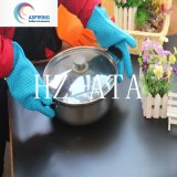 Kitchen Accessory Silicone Oven Golves with Fings Microware Oven Gloves