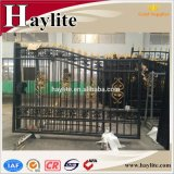Wrought Forged Automatic Swing Sliding Fence Driveway Iron Gate High Good Quality