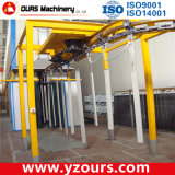 Good Powder Coating Line with Manual Powder Coating Machine