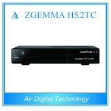 2017 The Hottest Combo Satellite Receiver Zgemma H5.2tc Bcm73625 DVB-S2 + 2 * DVB-T2/C Dual Hybrid Tuners Supports H. 265 / Hevc
