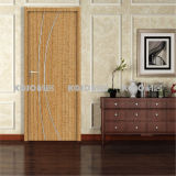 Waterproof Eco-Friendly Bathroom Bedroom PVC Wrapping Door (KM-02)