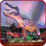 Life-Size 3D Animated Dinosaur Statue