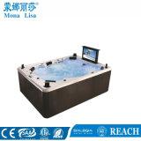 6-7 Person Rectangle Acrylic Massage SPA Tub (M-3342)