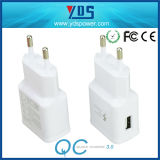 EU Plug Quick 1.0 Single USB Wall Charger